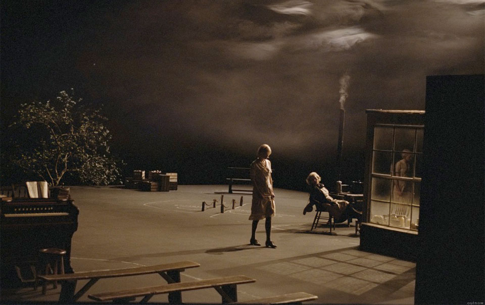 dogville essay Dogville is not a dogme film (and in fact, the idiots is the only von trier film that adheres to the vow of chastity), but von trier's quest for truth through .