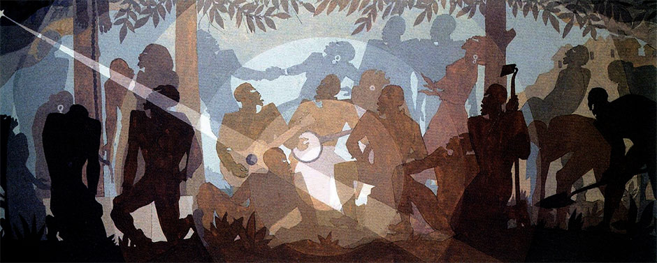 Aspects of Negro Life: An Idyll of the Deep South (Aaron Douglas, 1934)